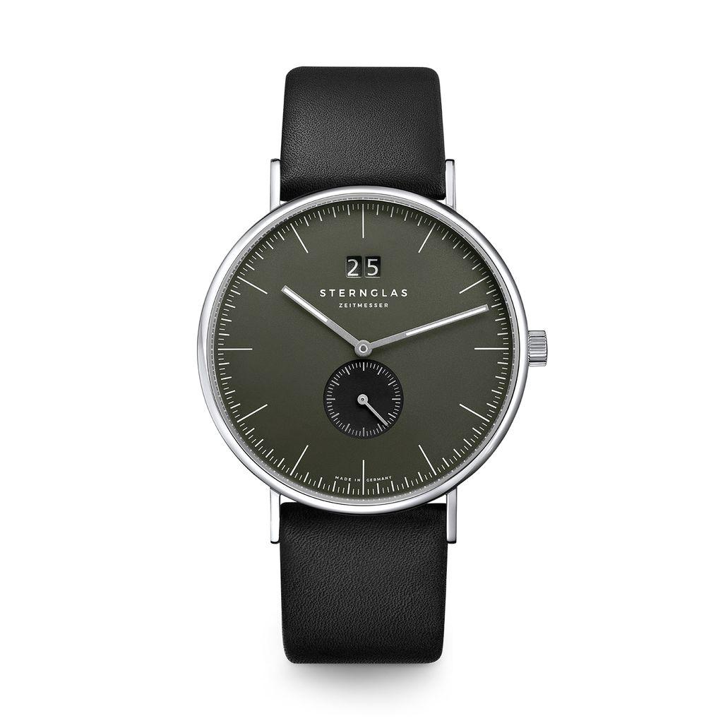 Ivo rauchgrün/silber/Premium schwarz
