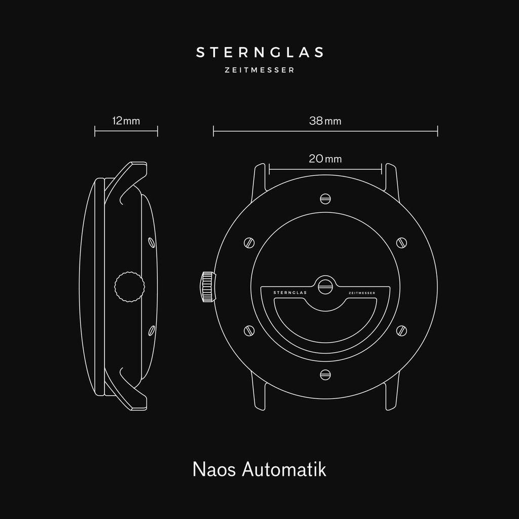 Naos XS weiß/silber/Klassik schwarz
