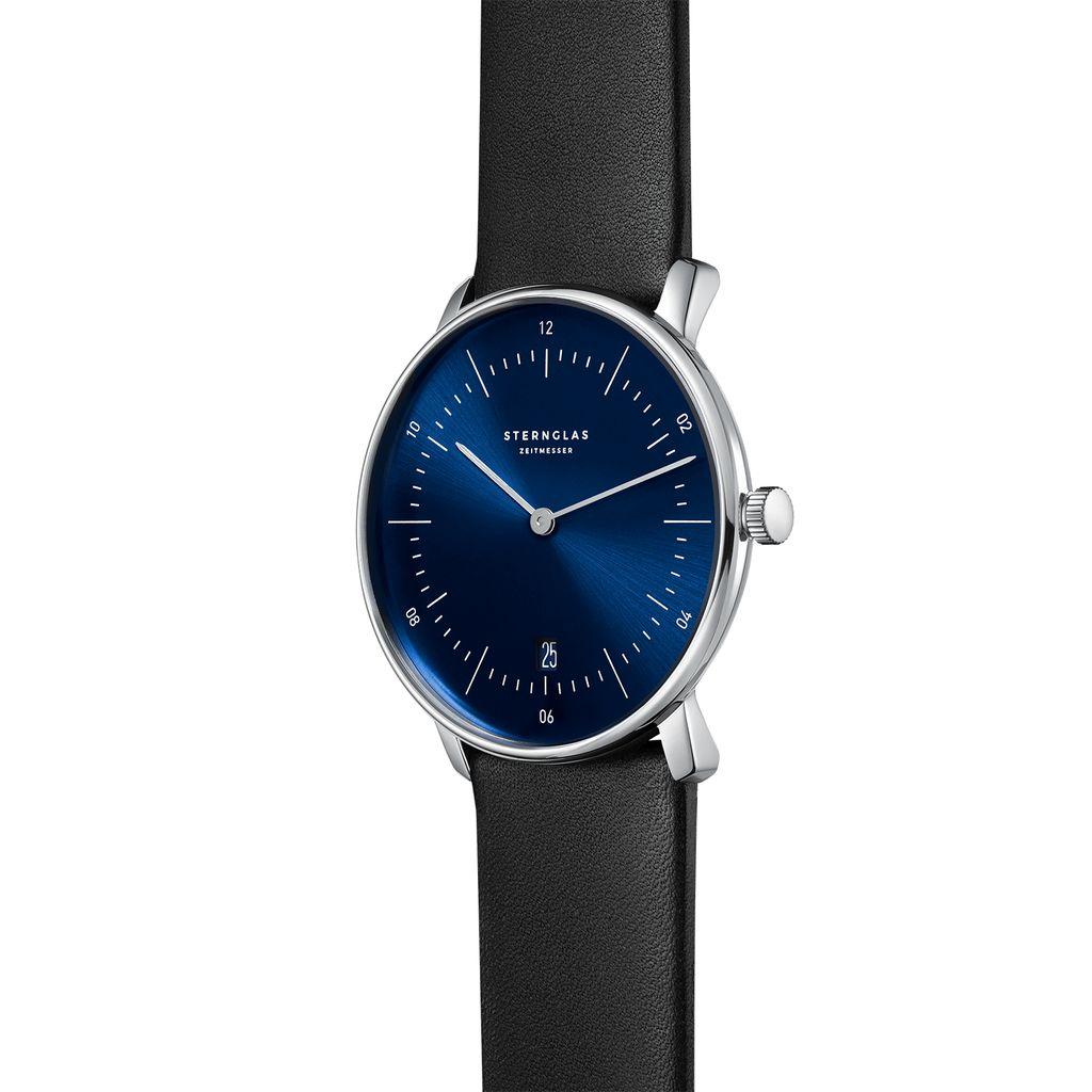 NAOS Sonnenschliff blau silber / Premium schwarz